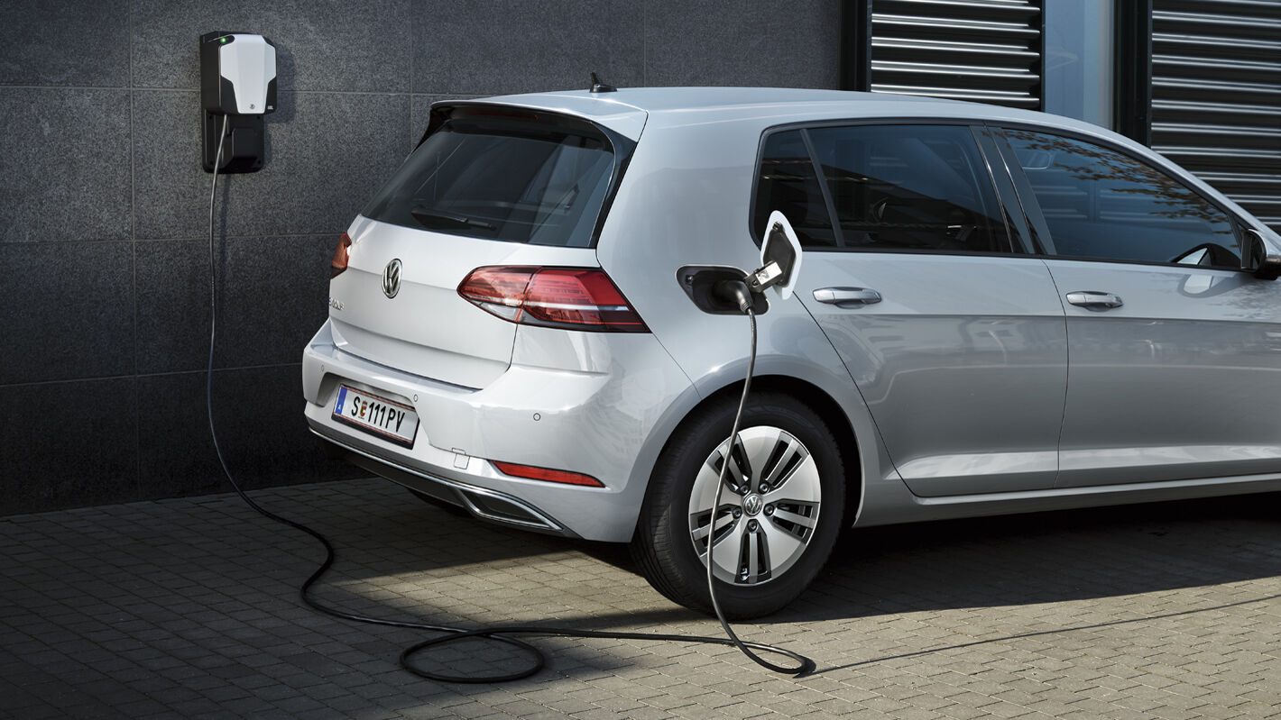 vw elektroauto laden techologie